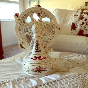 Vintage Porcelain Musical Ferris Wheel